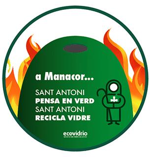 Imagen Síntesis y Acción recicla vídrio